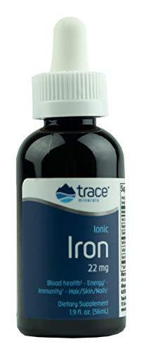 - Trace Minerals Liquid Ionic Iron, 22 mg, 1.9 Ounce