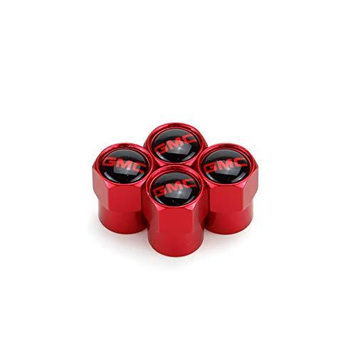 TK-KLZ 5Pcs Metal Car Wheel Tire Valve Stem Caps for GMC Canyon Envoy Sierra Yukon Safari Savana Decorative Accessories ()