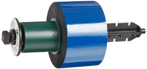 Brady IP-R6006 984' Length x 1.57'' Width, 6000 Series Black Brady IP Thermal Transfer Printer Ribbon by Brady