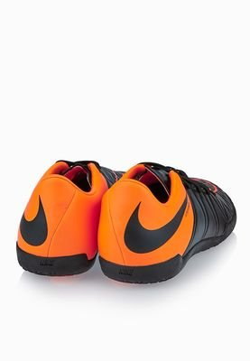 Nike Hypervenom Phelon Ii Tc Indoor, Botas de Fútbol para Hombre BLACK/BLACK-TOTAL ORANGE