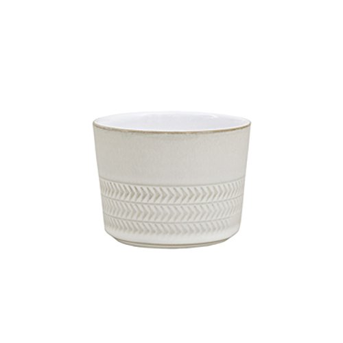 Denby USA Natural Canvas Textured Sugar Bowl / Ramekin