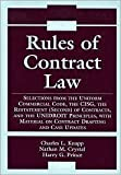 Rules of Contract Law, 2005-2006 Supplement, Knapp, Charles L., 0735551413
