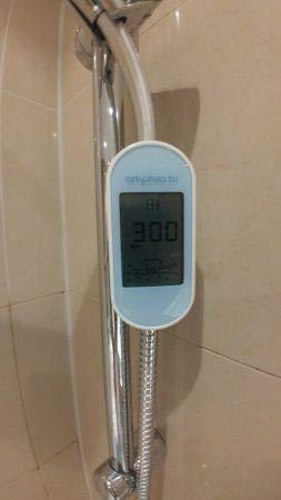 amphiro b1 connect El Indicador De Consumo De inteligente para la ducha con Smartphone de aplicaci/ón