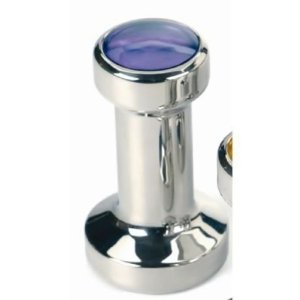 Blue 49mm Espresso Tamper Stainless Steel Coffee