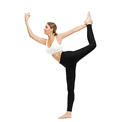 TUNGLUNG High Waist Yoga Pants, Yoga Pants with Pockets Tummy Control Workout Pants 4 Way Stretch Pocket Leggings at Women's Clothing store