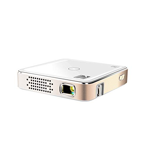 Kodak Ultra Mini Portable Projector - 1080p HD LED DLP Rechargeable Pico Projector - 80' Display, Built-in Speaker - HDMI, USB and Micro SD - Compatible with iPhone iPad, Android Phones & Devices