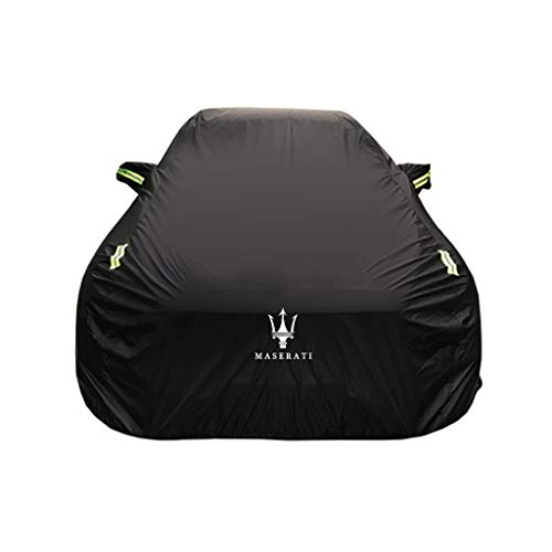 Car Cover Maserati Ghibli Special Car Cover Car Clothing Thick Oxford Cloth Sun Protection Rain Cover Car Cloth Car Cover (Size : Oxford Cloth – Single Layer)