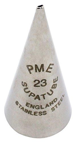 PME ST23 Supatube Decorating Tip Calligraphy #23 (Fine), Standard Silver