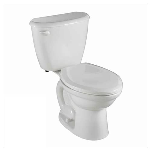 low-cost American Standard 2487.010.020 Colony FitRight Right Height Elongated Toilet with 10-Inch Rough-In, White