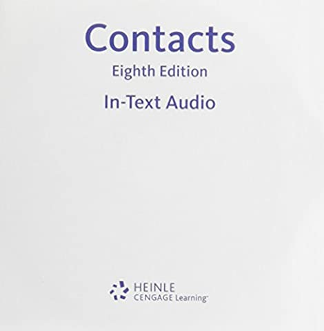 In-text Audio CD-ROM for Valette's Contacts: Langue et culture françaises, 8th (Contacts French Book)