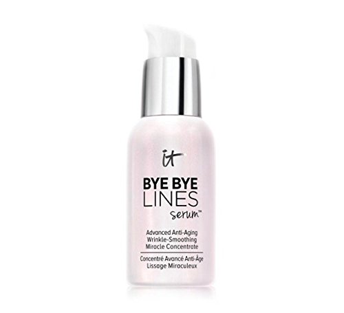 It Cosmetics Bye Bye Lines Serum 1 FL OZ (Best Primer For Fine Lines Under Eyes)
