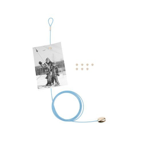 Kikkerland Photo and Card Holder with 8 Magnets, ()