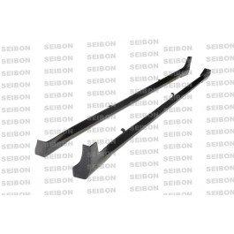 Seibon SS0809INFG374D-NS Carbon Fiber Side Skirts NS Style Pair