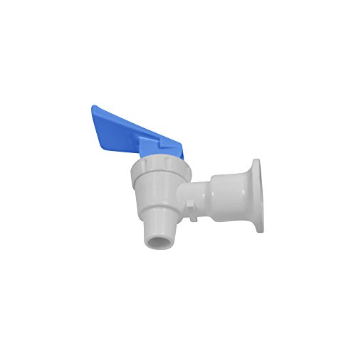 Tomlinson 1008780 Complete Faucet, White Body with Blue Handle