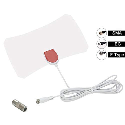 (200 Miles TV Antenna Digital HD Skylink 4K Antena Indoor HDTV 1080P Antenna - Support SMA,IEC, F Type, Frequency Range VHF(172-240Mhz) \ UHF(470-860Mhz))