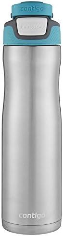 Contigo Autoseal Chill Stainless Steel Water Bottle, 24 Oz., Scuba