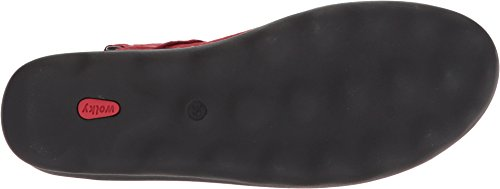 Red Pichu Comfort 01890 Circles Sandals Wolky wU8Iw