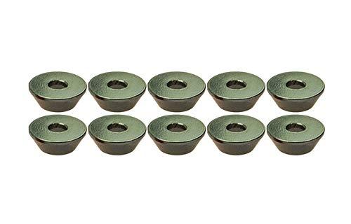 (Part & Accessories 10Pcs M3 3mm Countersunk Washer Alloy Aluminium Silver - (Color: Silver))