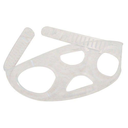 GetWetStore Silicone Snorkel Mask Strap Scuba Diving Replacement, Clear