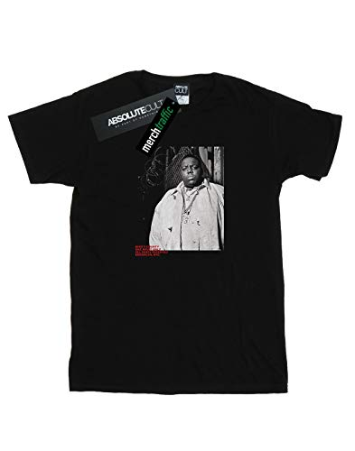 Absolute Large Big Cult Del Mujer Camiseta Photo Fence Novio Notorious Negro Fit FFfWqwgx1r