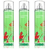 Cucumber Melon Body Splash - Bath & Body Works Cucumber Melon Fragrance Mist Set of 3 Full Size