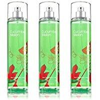 Melon Body Splash Cucumber - Bath & Body Works Cucumber Melon Fragrance Mist Set of 3 Full Size