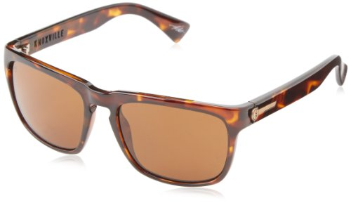 Electric Visual Knoxville Tortoise Shell/OHM Bronze - Sunglasses Electric Mens