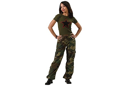 Rothco WMNS Vintage Paratrooper Fatigues, Camo, Small