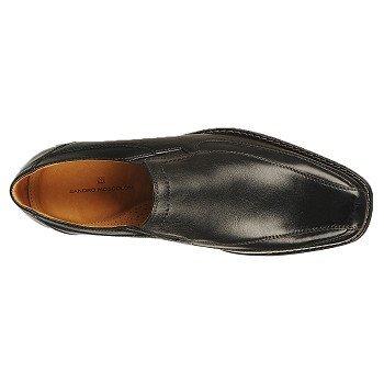 Sandro Moscoloni Mens Berwyn Slip On Shoe Black PSQDem