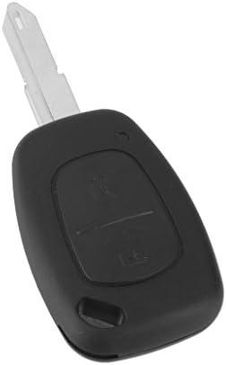2 Pulsante Portachiavi Telecomando Caso Di Riparazione Per Renault Trafic Master Kangoo