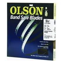 Olson Saw FB14593DB HEFB Band 6-TPI Skip Saw Blade, 1/4 by .025 by 93-1/2-Inch