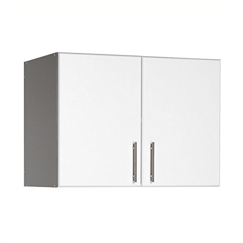 Prepac WEW-3224 - Elite Garage / Laundry Room Topper & Wall Cabinet with 2 Doors.. (Prepac Wall Cabinet)