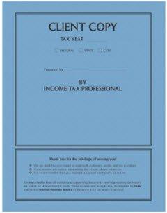 EGP Income Tax Return Cover