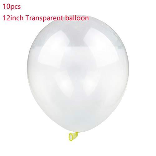 Rosa de Oro Balón de Arco, claro de plata del confeti Globos de ...