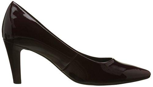 Gabor Shoes 51.280 Damen Geschlossene Pumps Rot (Merlot+Absatz 71)