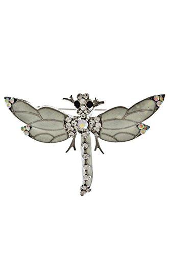 Antique Dragonfly Brooch - 7