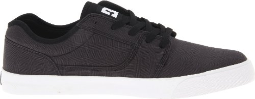 Dc Mens Bristol Tx Action Scarpe Sportive Plaid Nero