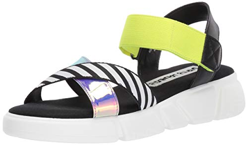 Dirty Laundry by Chinese Laundry Women's All TIME Sport Sandal, Black, 8 M US (Multi Colored Platform)