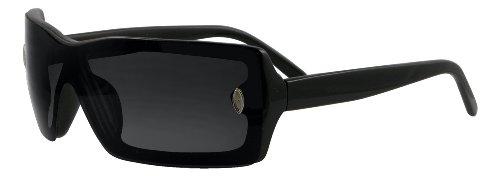 UV3+ Black Womens Oversize - Sunglasses Uv3