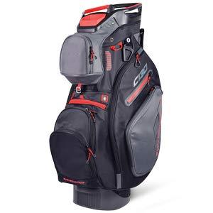 Sun Mountain Golf 2019 C-130 Cart Bag GUNMETAL-BLACK-RED (Gunmetal-Black-Red)