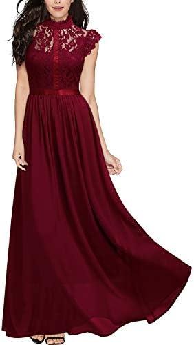 M /& L Gr Red Corner One-Shoulder-Kleid S