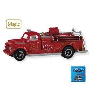 Hallmark 1951 Ford Fire Engine Fire Brigade - Ornament Engine Fire