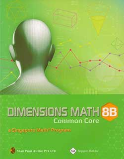 Dimensions Math Common Core 8B Textbook