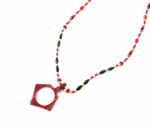 Eyeglass Necklace by Calabria EC-6-R&B