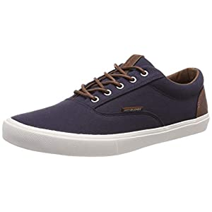 JACK & JONES Jfwvision Classic Mixed Navy Blazer Noos, Men's Low-Top Sneakers