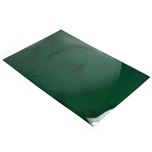 """CMS MAGNETICS 4"""" x 6"""" Green Magnetic Viewing Film, See Magnetic Field with this Magic Film to Learn Magnetism. Applicable for All Kinds of Magnets Including Neodymium Magnets, Lots of Fun! from CMS MAGNETICS"""