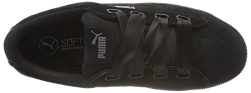 Zapatillas Black Puma puma Ribbon Mujer puma Negro Para S Platform Black Vikky xxa1FwPI