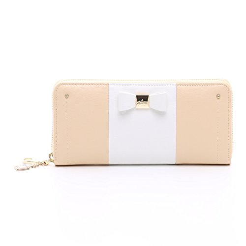 chouette-fashion-lady-women-clutch-ribbon-long-wallet-card-holder-purse-samantha-thavasa-japanese-st