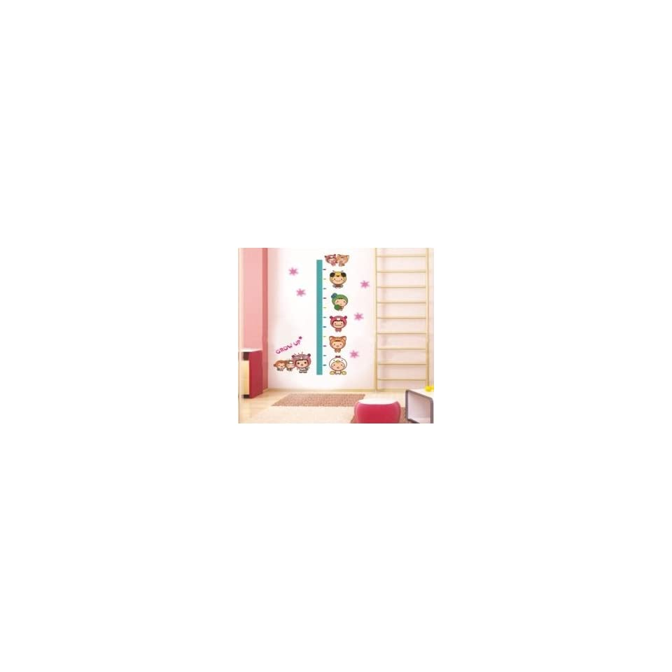 Grow up Growth Chart Measures up to 170cm Wall Sticker Decal for Baby Nursery Kids Room