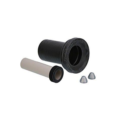 Geberit Anschlussset für Wand-WC mit Deckkappen, 185 mm, 152.426.46.1
